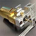 アジレント製GC/MSD・GC/TQ用 ゴールドイナート イオン源